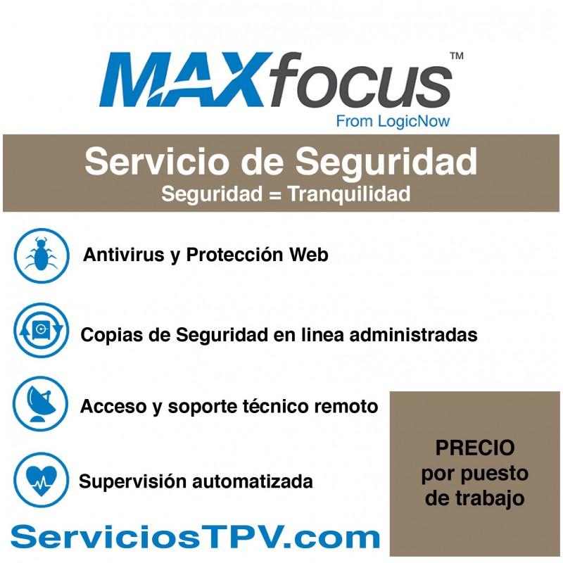 Servicio de Seguridad MAX Antivirus Copias en linea